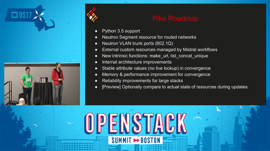 OpenStack Heat Pike Roadmap