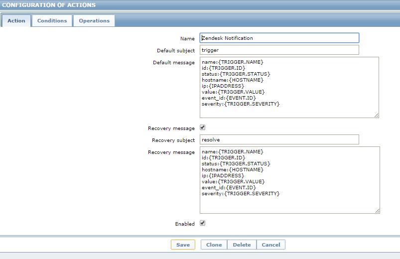 Intégration de Zabbix dans Zendesk (ou l'inverse) - Le blog